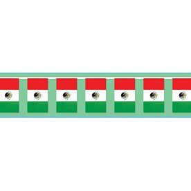 Mexican bunting flag