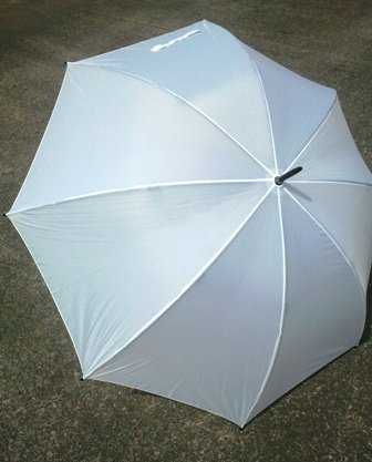 Umbrella, golf white