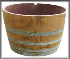 Wine barrel - half