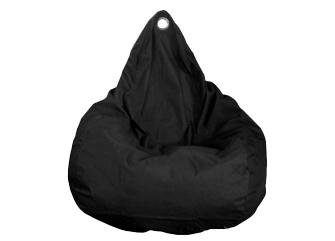Bean bag, black