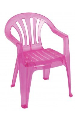 Chair, pink child
