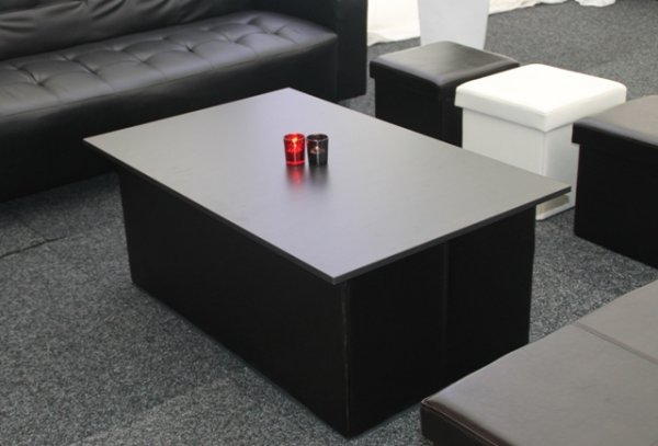 Coffee table top, black