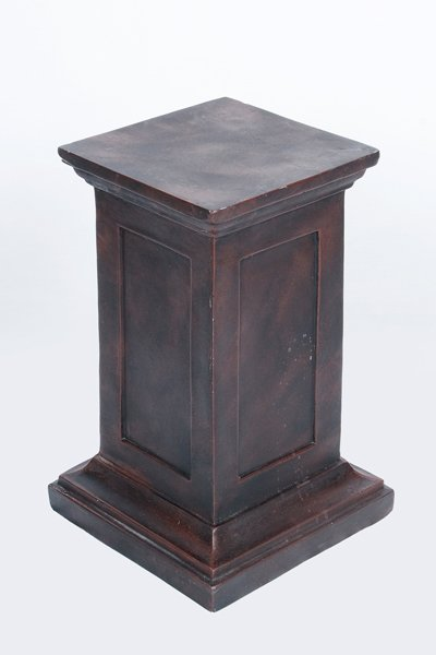 Pedestal, bronze - medium