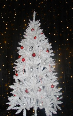Chirstmas tree - white
