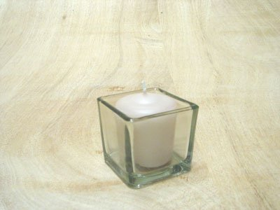 Tea light holder - square