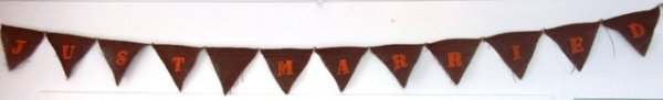 Bunting 'just married'