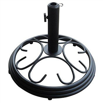 Umbrella base, black