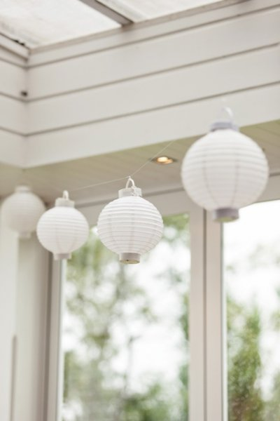 Lantern, chinese - white LED
