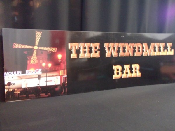 Bar sign, Windmill Bar