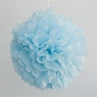 Paper pom pom - Blue (SALE Item)