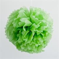 Paper pom pom - Green (SALE Item)