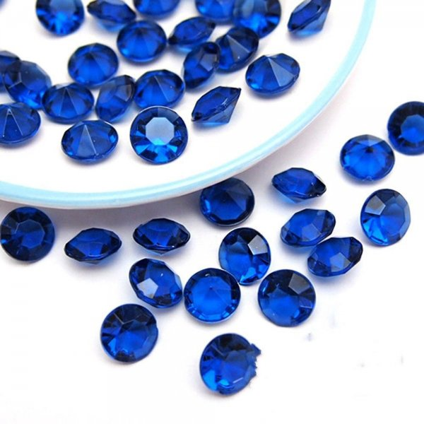 Diamante scatters, blue - small bag SALE item