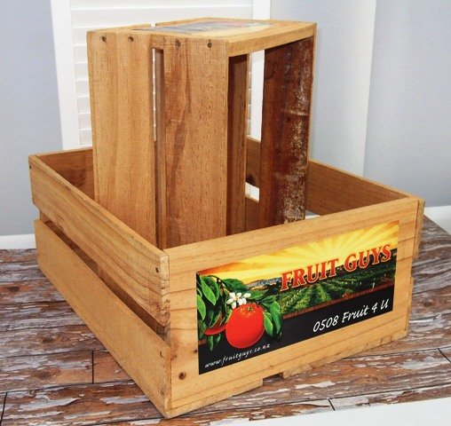 Crate, fruit