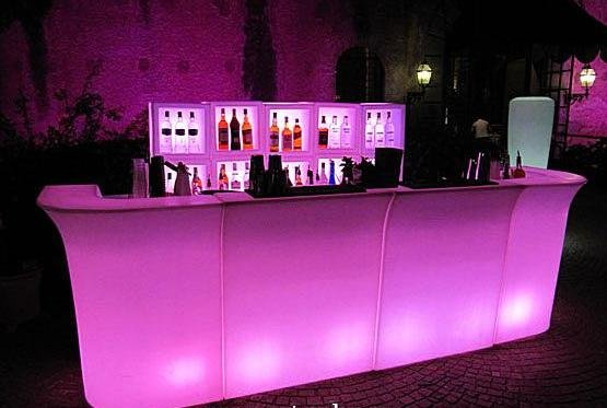 Bar leaner, Illuminated