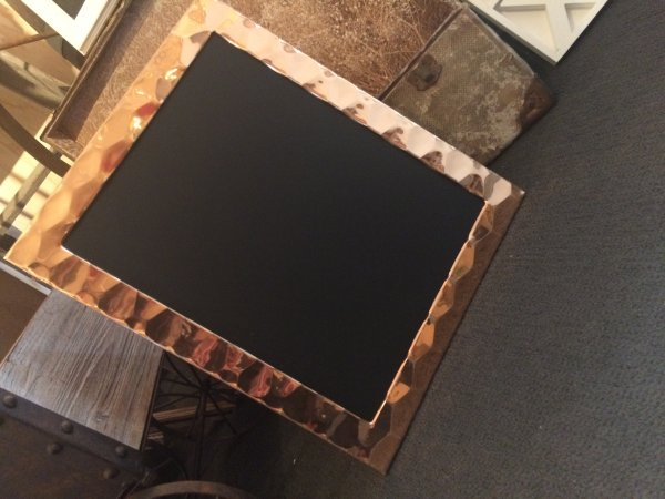 Blackboard, copper